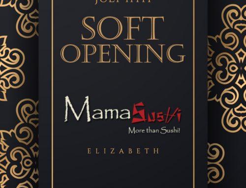 Soft opening Mamasushi Elizabeth