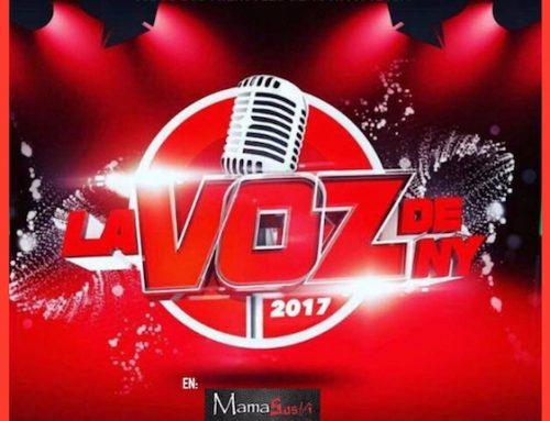 Wednesday: La Voz De NY 2017 at Harlem